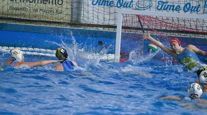Bogliasco Bene Vs Rapallo pallanuoto Campionato Femminile A1