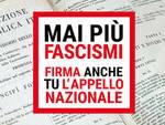 """Sabato mattina a Savona \""""Mai più fascismi\"""" organizzato da Cgil, Anpi, Arci e Libera"""