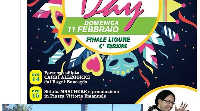 "Frastuono Marching Band al ""Carnevale Day 2018"" di Finalmarina"