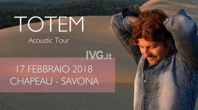 "Stasera al Circolo ARCI Chapeau Famagosta di Savona: Emanuele Dabbono \""Totem\"" acustic Tour"