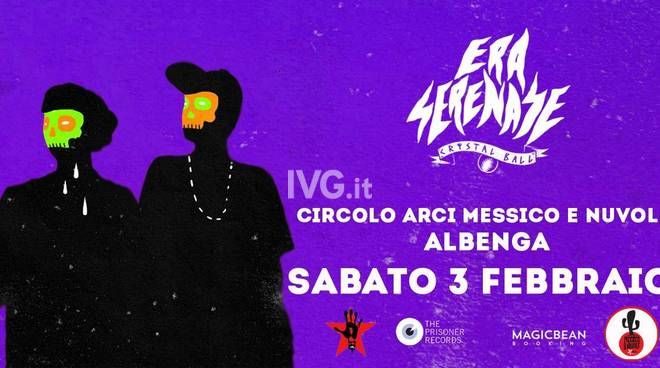 """Domani sera ad Albenga:  Era Serenase__live__\"""" Messico & Nuvole \"""""""