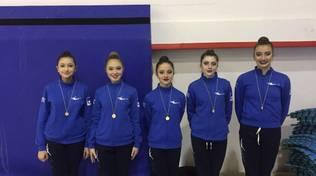 Prima prova individuale silver per le Junior e le Senior dell\' ArteGinnastica