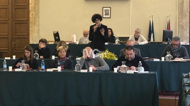 consiglio comunale giunta Caprioglio
