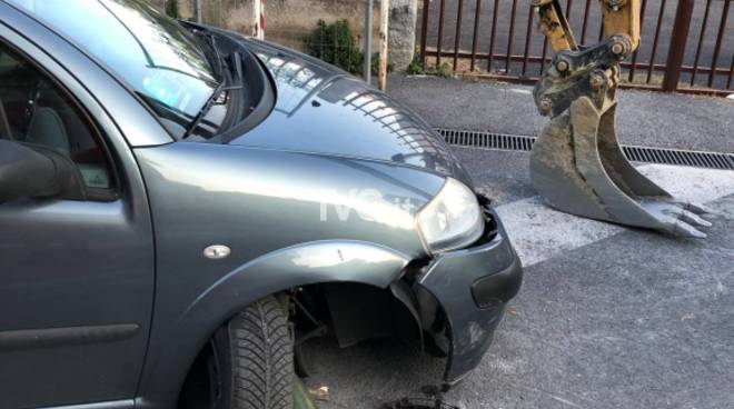 Loano Incidente Auto Ruspa