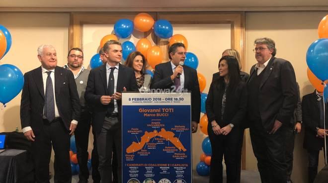 Il centrodestra presenta i candidati