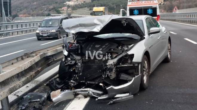 incidente a10 maserati