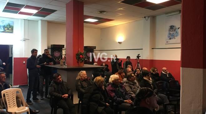 Incontro cittadini stanchi ospedale Albenga