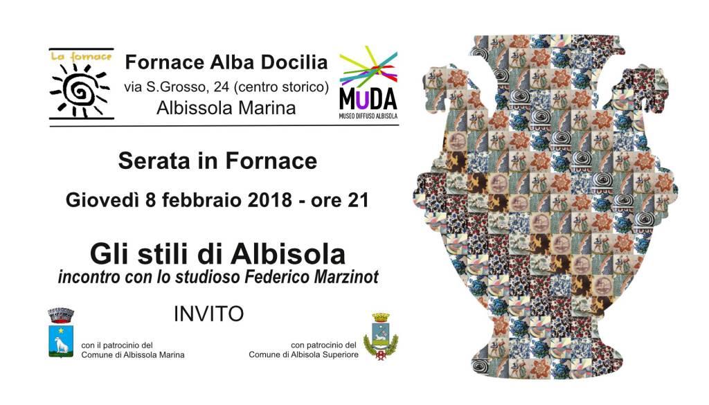 Incontro Fornace Alba Docilia Federico Marzinot