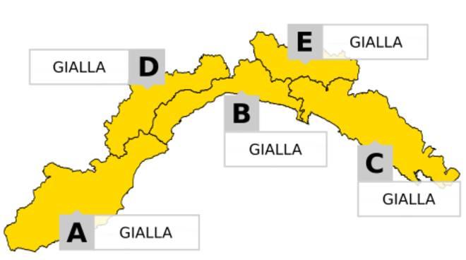 Neve e vento: allerta meteo giallo sulla Toscana