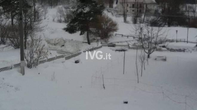 Nevicata del 24 febbraio in Valbormida