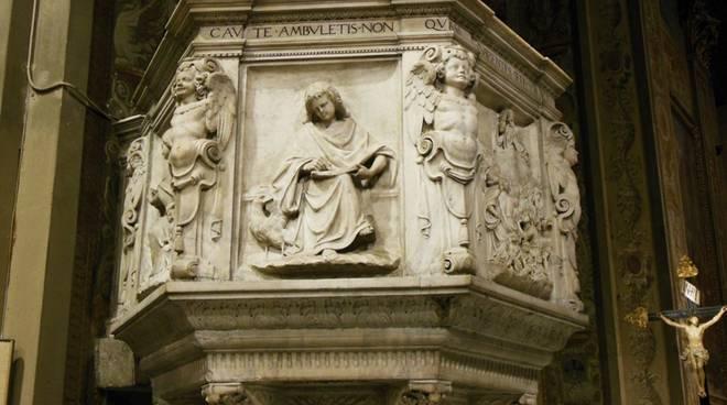 pulpito duomo savona cattedrale assunta