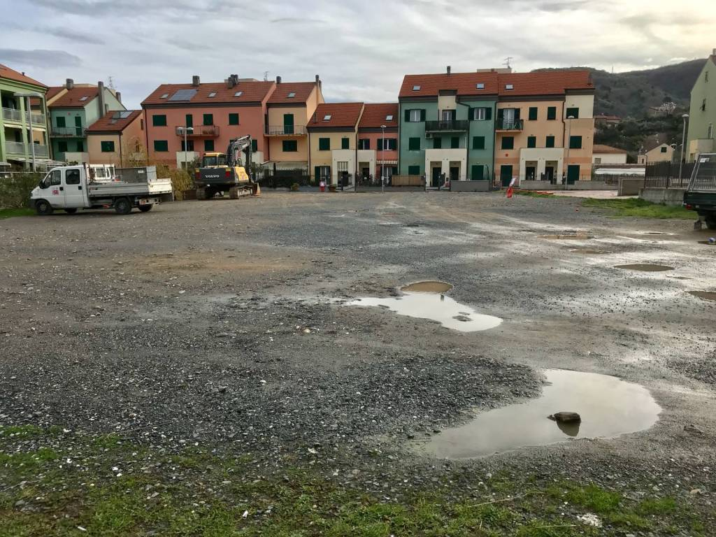 Rifacimento piazza Falcone e Borsellino San Fedele d'Albenga
