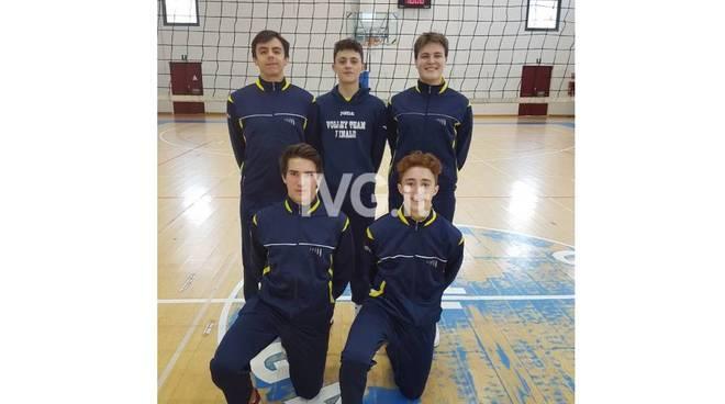 Selezioni regionali maschili: 5 convocati Volley Team Finale