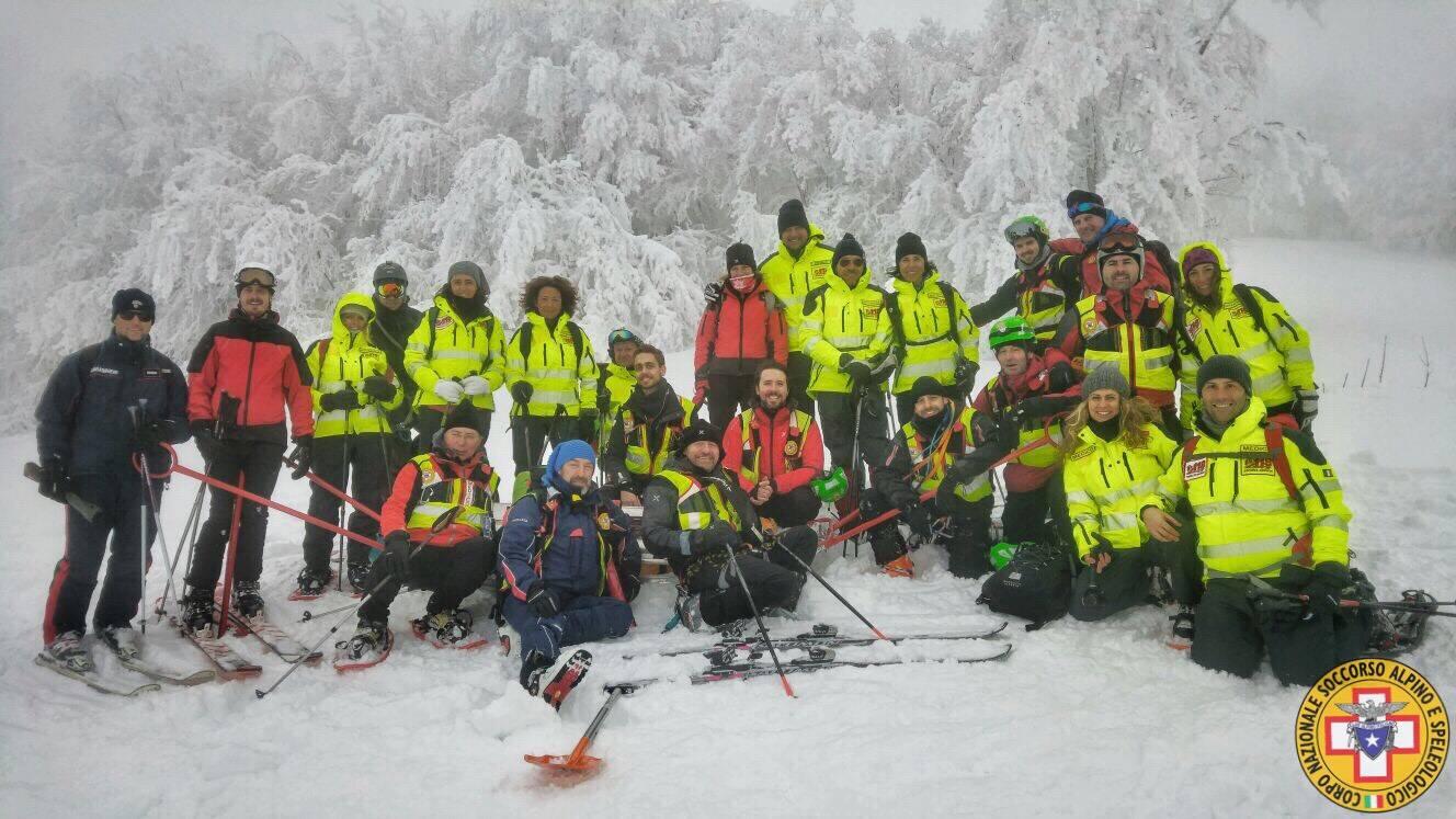 soccorso alpino esercitazione