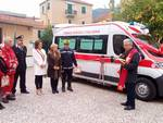 Vado, inaugurata la nuova ambulanza