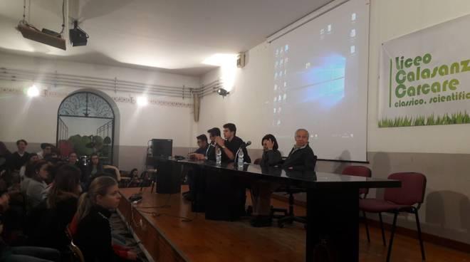 Liceo Calasanzio Carcare Giornata Memoria 2018