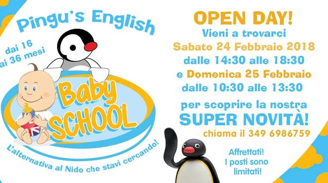 Baby School Pingu's English Loano