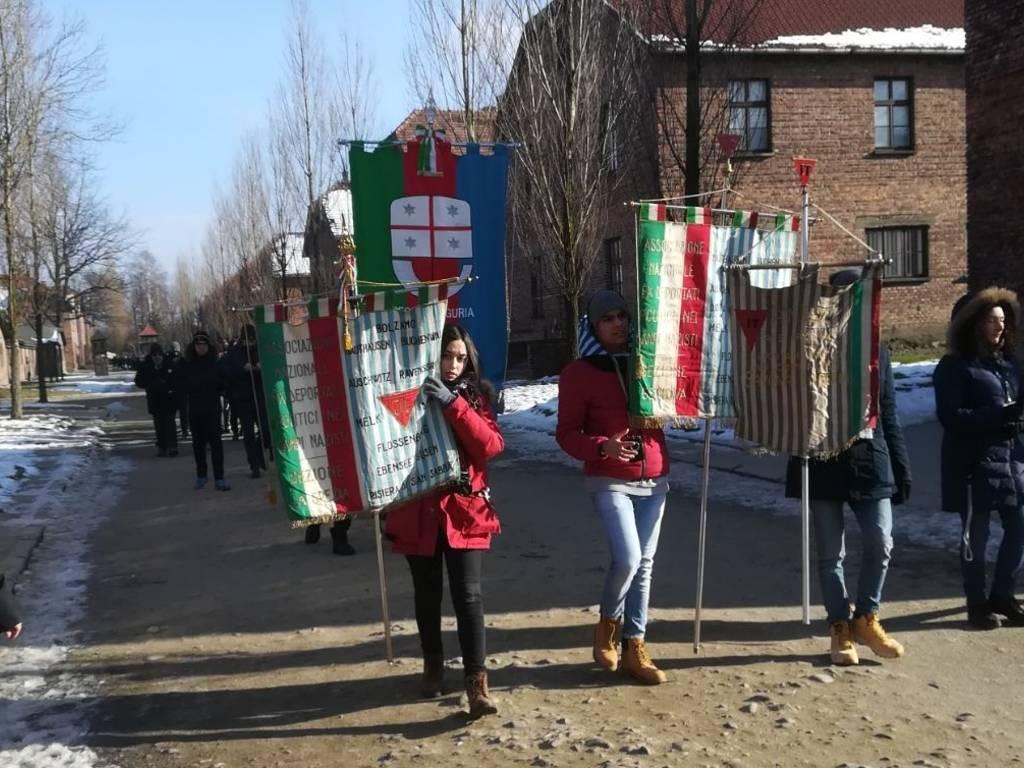 Delegazione Regione Auschwitz