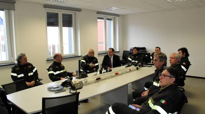 Prefetto Savona Visita Vigili Fuoco