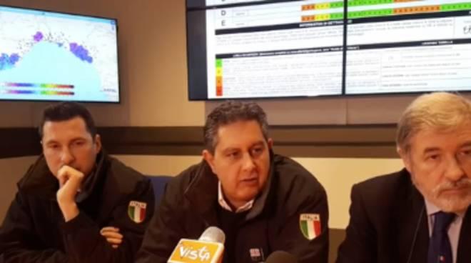 Allerta meto 2 Marzo Toti conf.stampa
