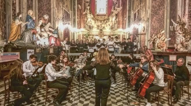 """Allievi Liceo Musicale """"Pertini"""" di Genova"""