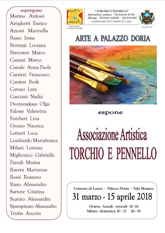 """""""Arte a Palazzo Doria"""" mostra Torchio e Pennello"""