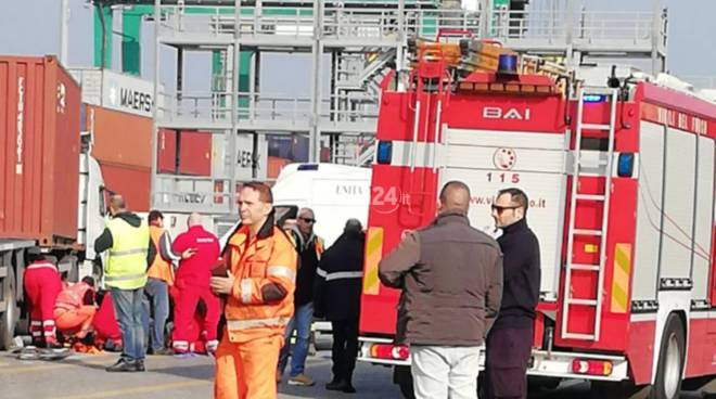Manovra mortale al piazzale Vte di Genova