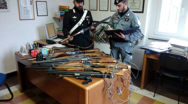 carabinieri, blitz dal bracconiere
