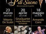 """23 marzo 2018: al via la nuova rassegna musicale nelle meravigliose Grotte di Borgio Verezzi.. \""""In Punta di Suono\"""""""