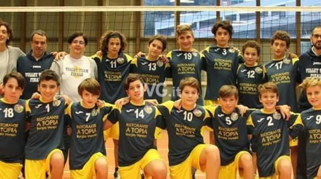 Volley Team Finale: Under 14 maschile da record, il titolo ponentino arriva con tre giornate di anticipo