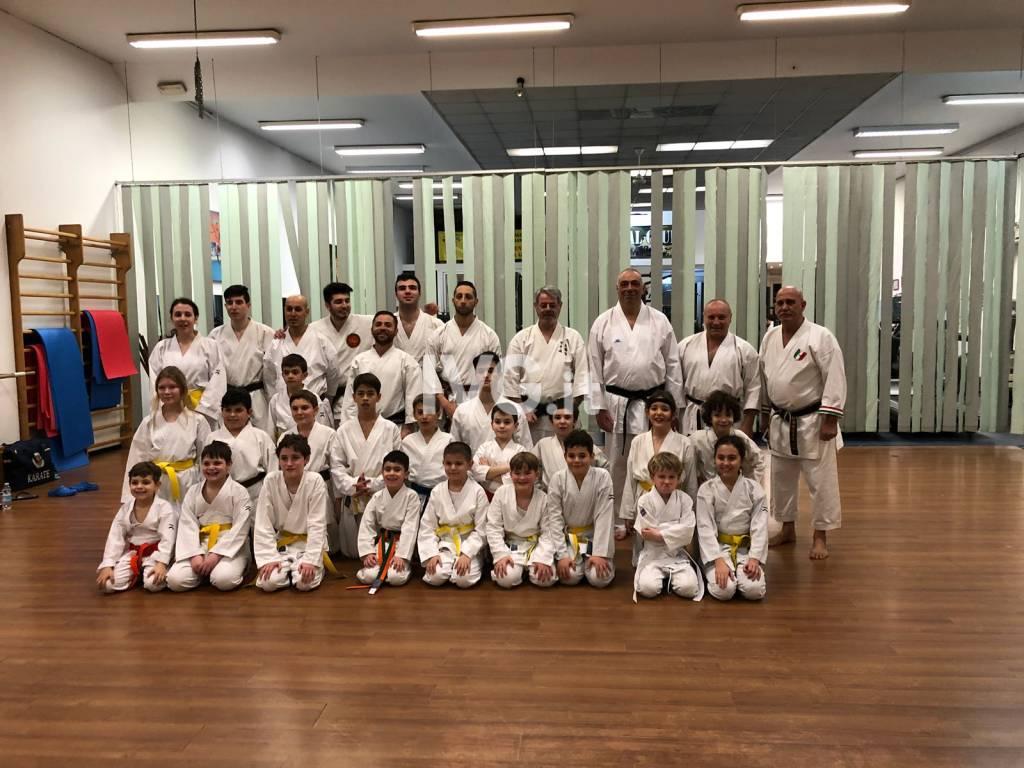 Stage Provincias A.S.I. di karate ed esami superiori
