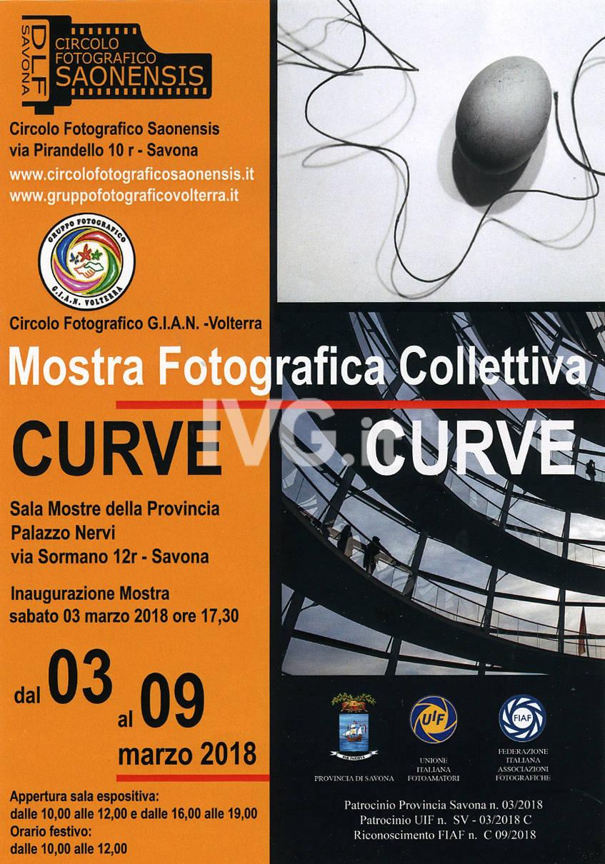 """Mostra Fotografica combinata \""""Linee curve\"""""""