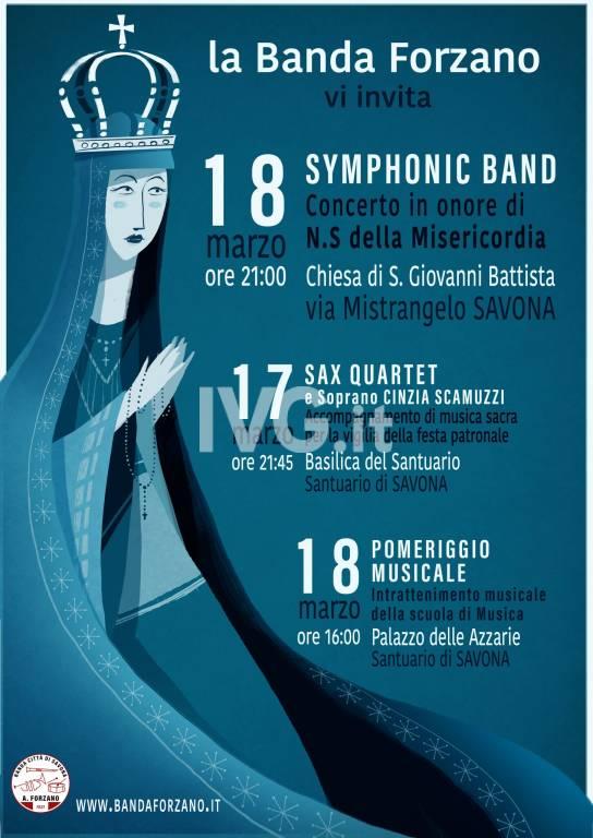 Sax Quartet Forzano  & Soprano Cinzia Scamuzzi