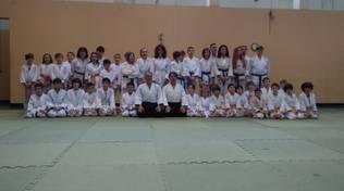 Domenica 40 bambini allo stage di AIKIDO a Finale Ligure!