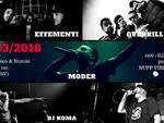 Stasera al Circolo ARCI Messico & Nuvole di Albenga: Dj koma/Moder/Principe/Effementi/ Overkill Army LIVE