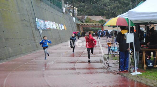 La Pioggia non ferma l'Atletica