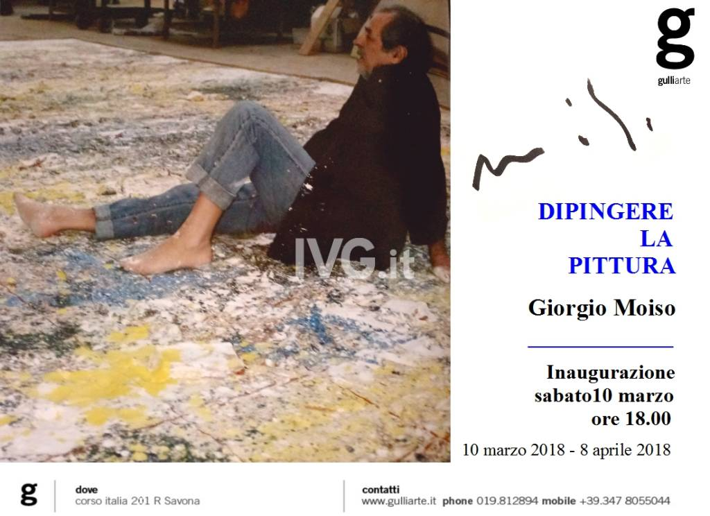 DIPINGERE LA PITTURA...