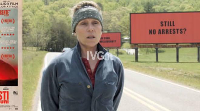 Oggi al NuovoFilmStudio di  Savona: Tre manifesti a Ebbing, Missouri (Three billboards outside Ebbing, Missouri)