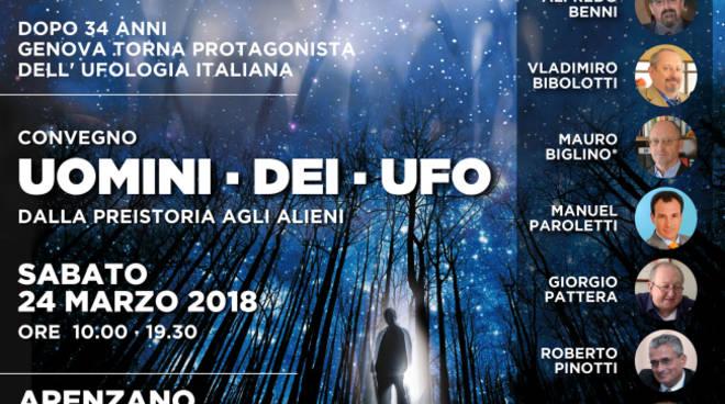 Uomini – Dei – Ufo. Dalla preistoria agli alieni