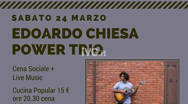 Stasera al Messico & Nuvole di Albenga: Associazione Culturale Zoo_Edoardo Chiesa Power Trio