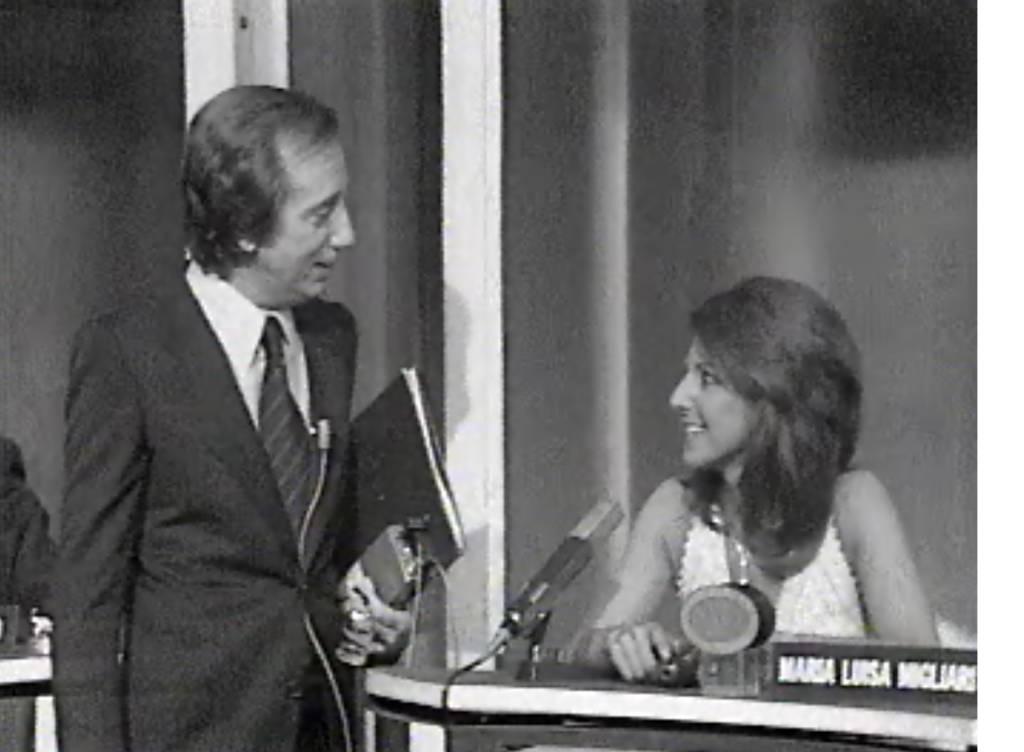 Maria Luisa Migliari e Mike Bongiorno