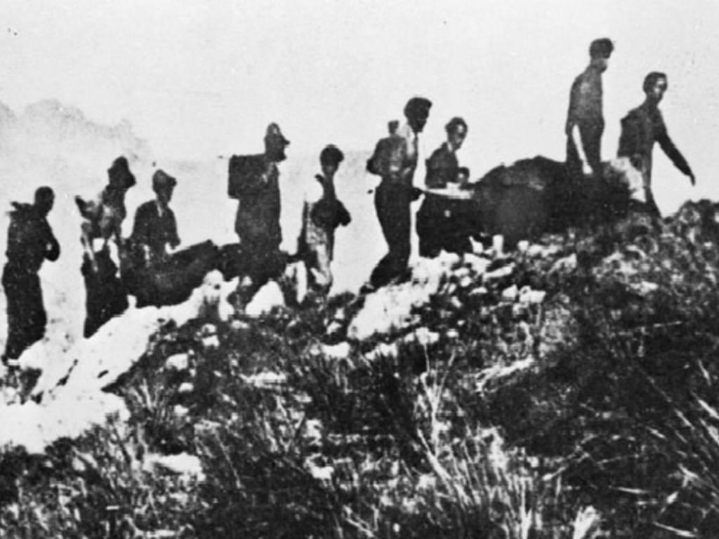 commemorazione martiri partigiani isoverde