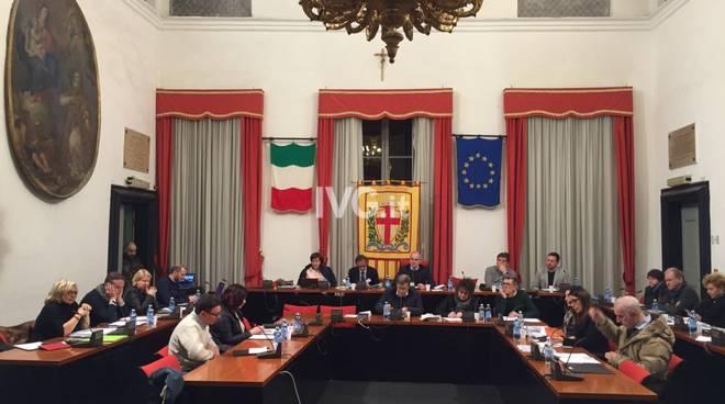 Consiglio Comunale Albenga marzo 2018