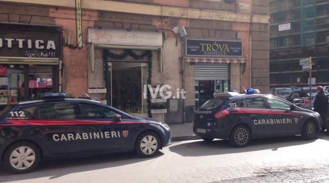 Furto Compro Oro Via Boselli Savona