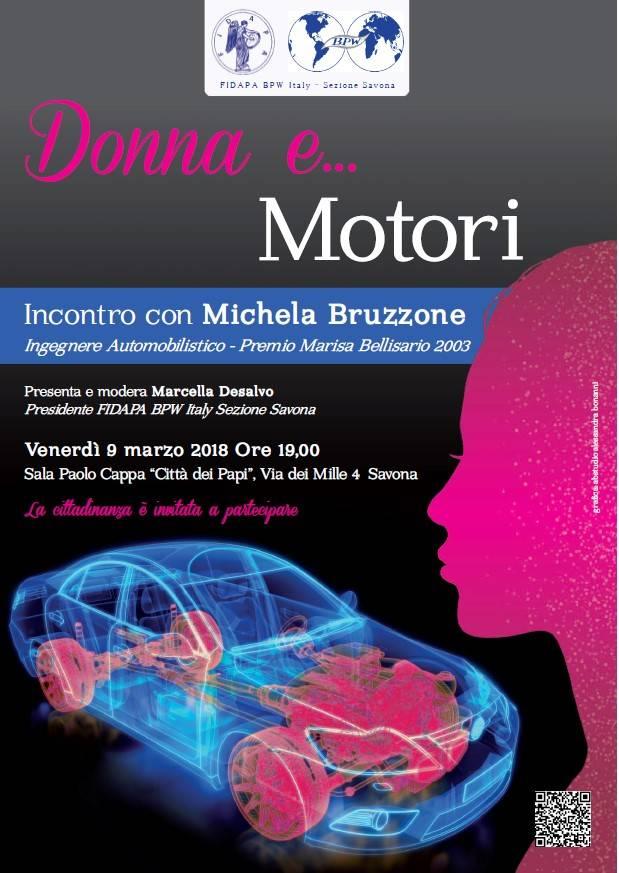 Donna e... Motori ingegnere Marcella Desalvo FIDAPA Savona