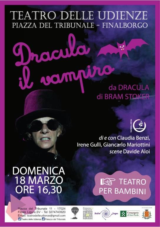 Dracula il Vampiro spettacolo teatrale