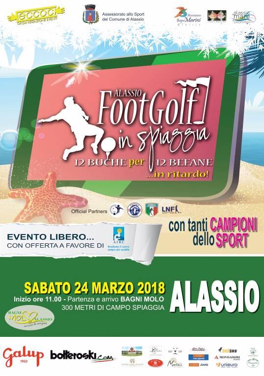 FootGolf in spiaggia terza edizione