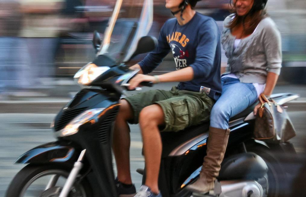 furto motorino scooter