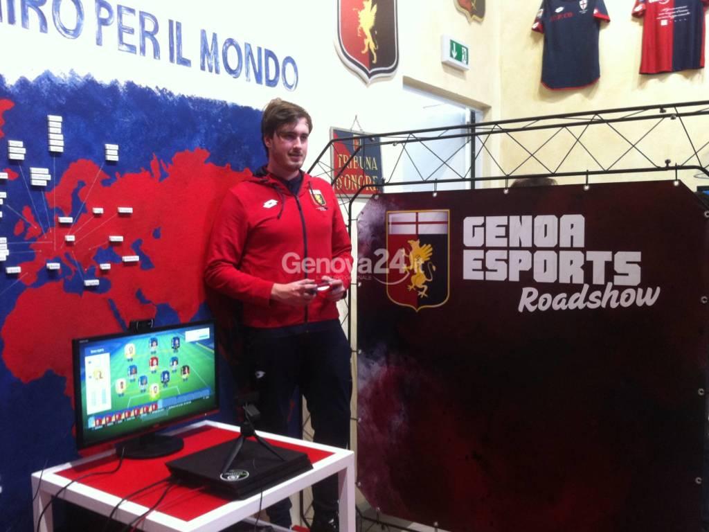 Genoa esports roadshow