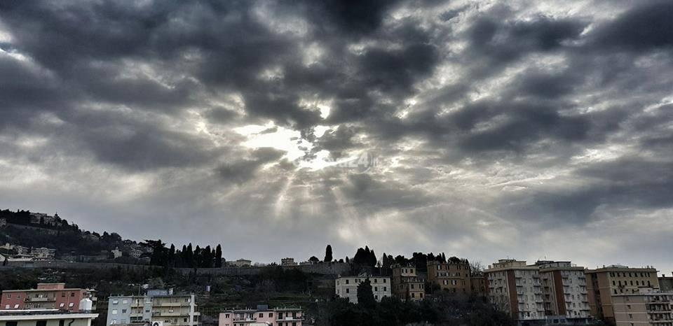 genova nuvole